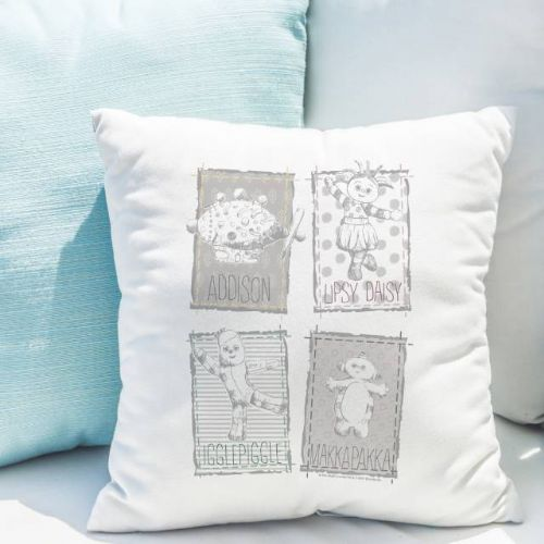 Personalised In The Night Garden Magic Garden Cushion